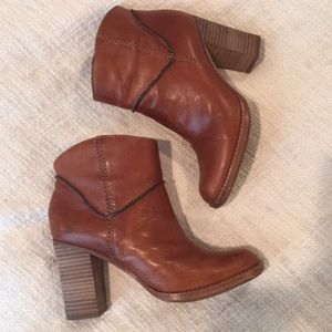 Aerin leather booties